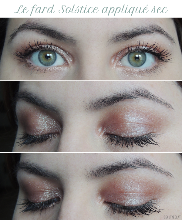 revue avis test swatch urban decay moodust solstice maquillage tutoriel