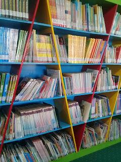 koleksi buku anak di perpus palnam