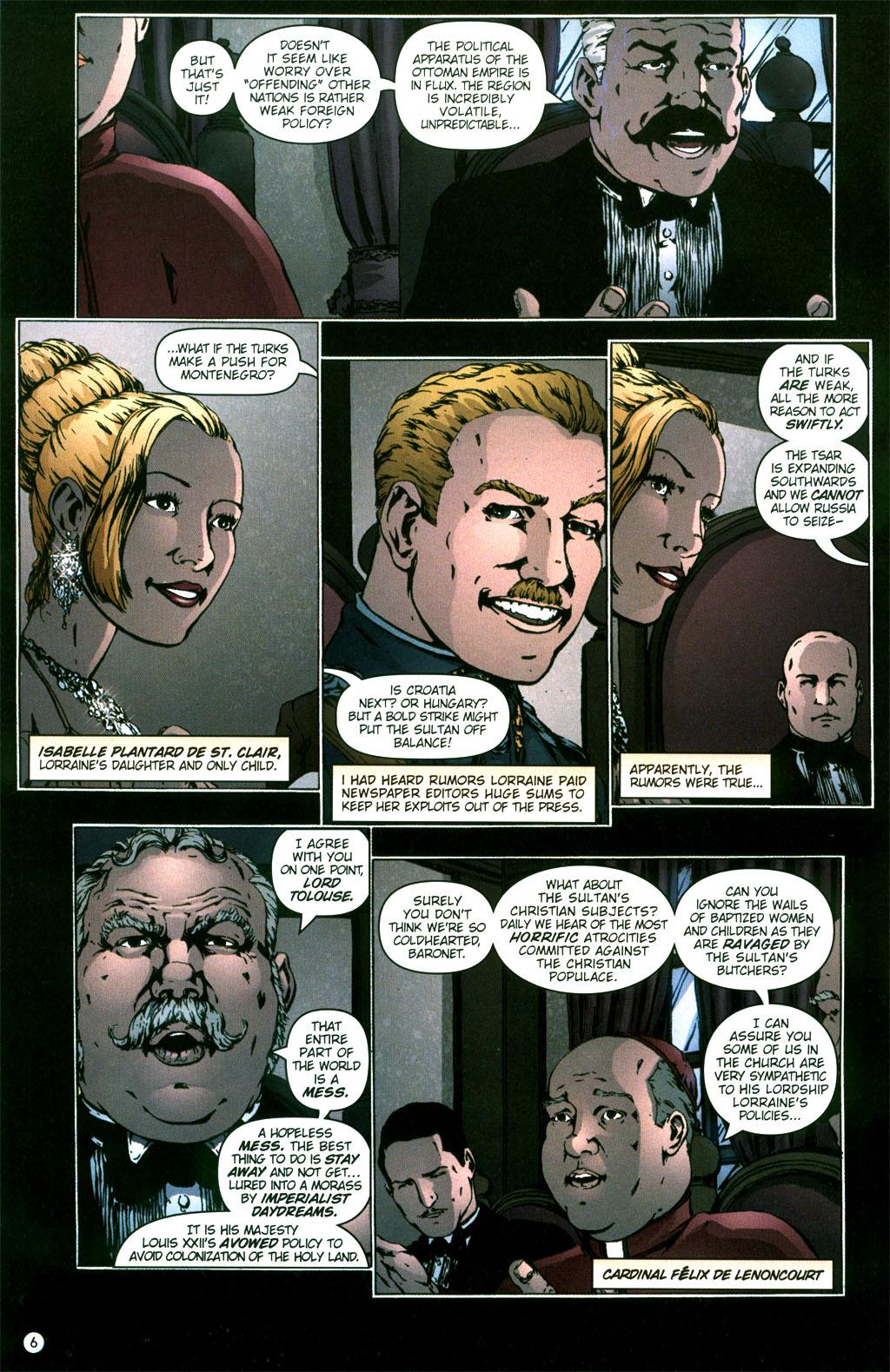 Read online Rex Mundi comic -  Issue #5 - 8