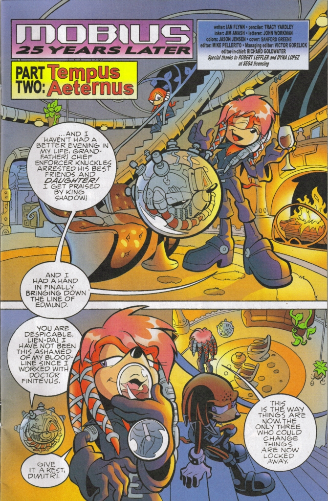 Read online Sonic The Hedgehog comic -  Issue #167 - 3