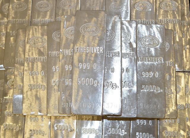 Silber Barren - Silber als Anlage.