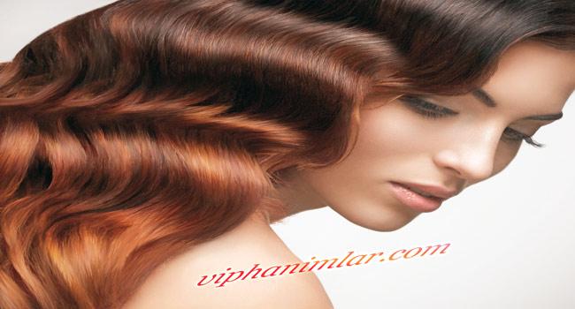 Sağlıklı ve bakımlı saçlar