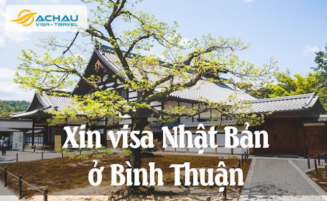 Xin visa Nhật Bản ở Bình Thuận như thế nào ?
