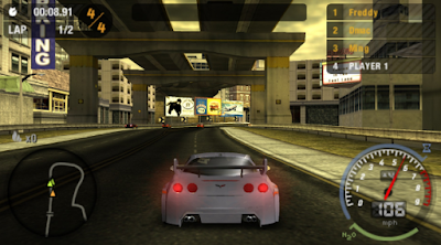 Download Need For Speed Most Wanted PPSSPP