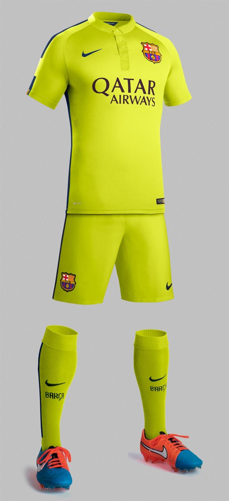 FC Barcelona 14-15 (2014-15) Trikots