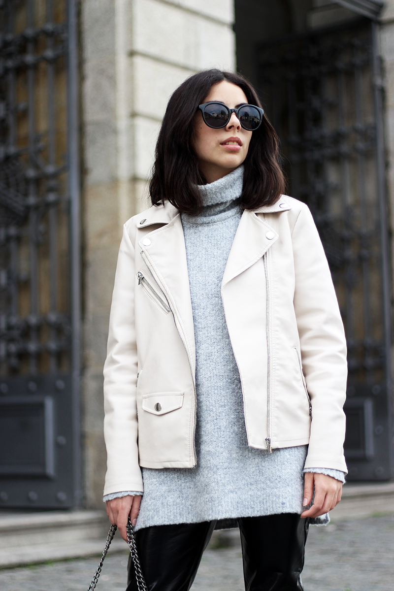 Why You Need A Nude Leather Jacket