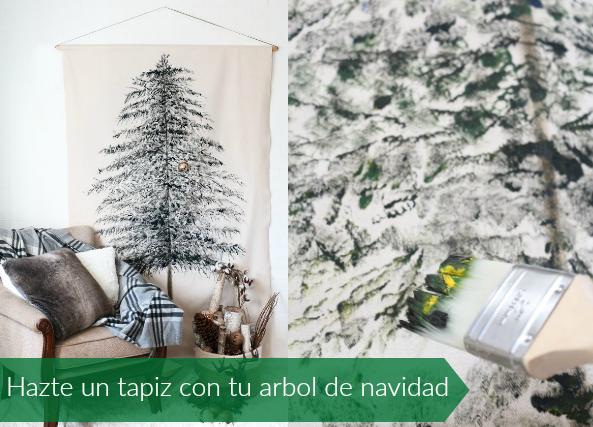 Arbol de navidad en tapiz paso a paso tutorial