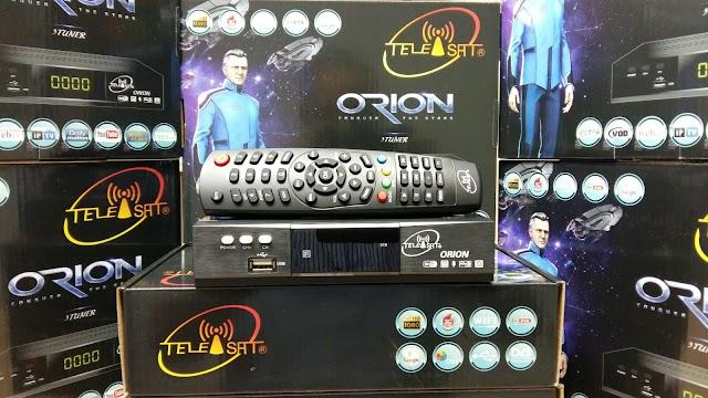 TELEISAT ORION HD 3 TURNERS NOVA ATUALIZAÇÃO V8.08.18.S28 - 19/09/2016