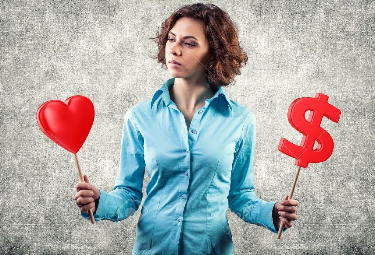 Money vs love