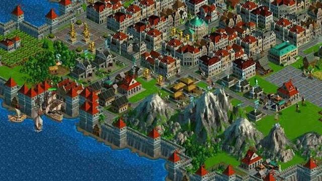 Anno 1602 schermata di gioco