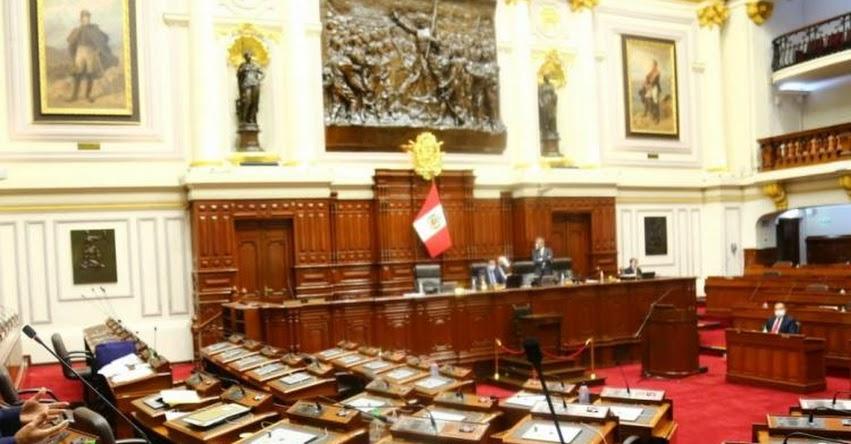 CONGRESO DE LA REPÚBLICA: Se inició Pleno que verá admisión de pedido de vacancia presidencial