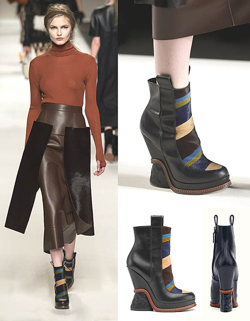 Wedges Boots Fendi Trend 2015-2016
