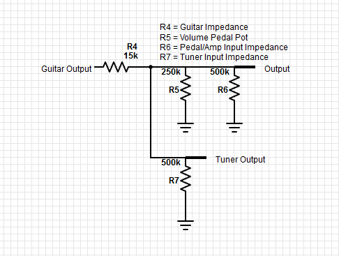 guitar volume pedal wiring buffer tube pre schematic guitar spring Aircraft Wiring Diagrams