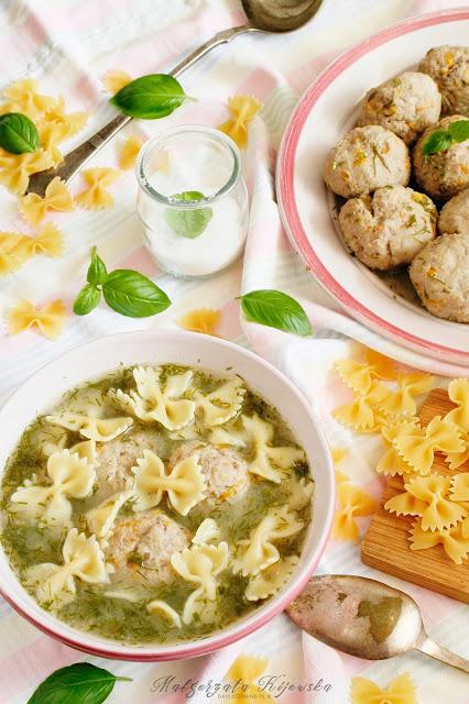 zupa koperkowa, klopsiki, jak zrobić pulpety, obiad dla dzieci, daylicooking