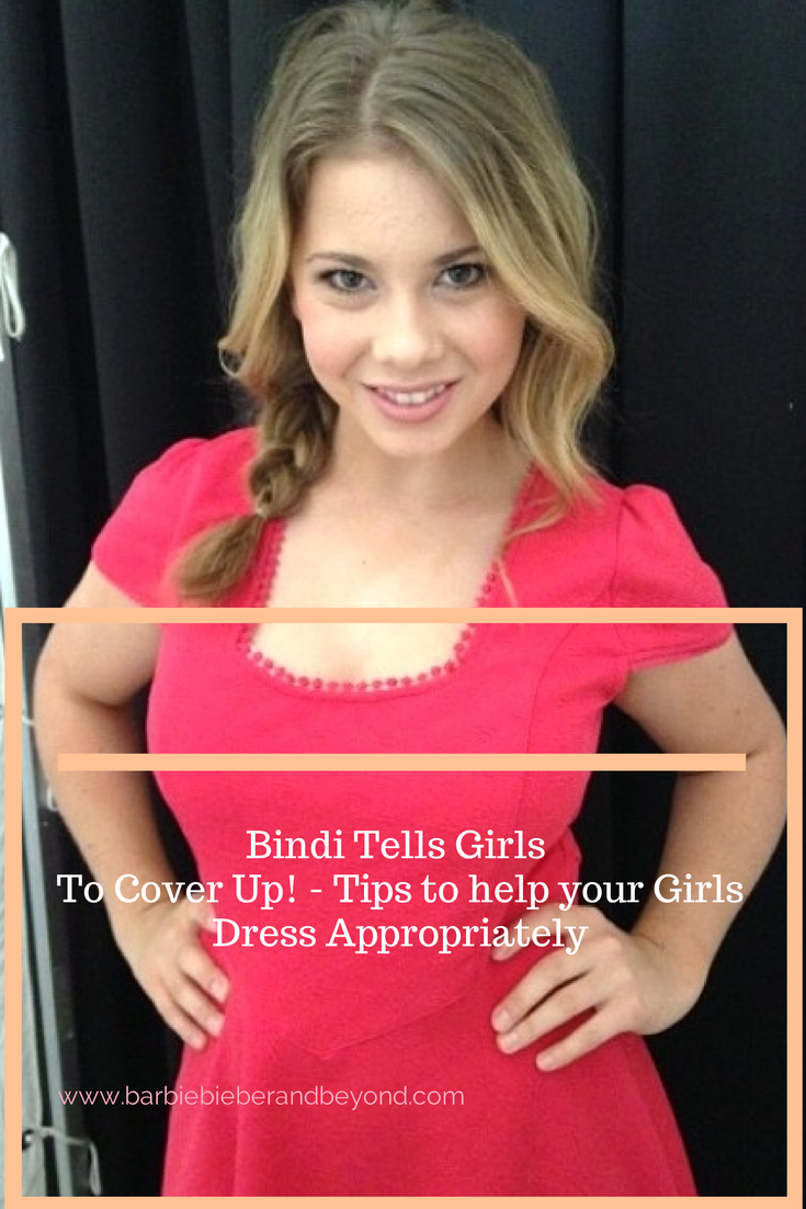 Bindi Irwin Encourages Our Girls To Cover Up