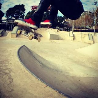 Mark Jansen Skateboarding Adelaide Bowl Ride