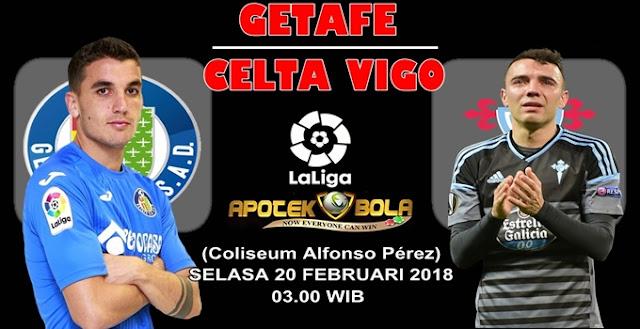 Prediksi Getafe vs Celta Vigo 20 Februari 2018