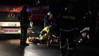 Incidente Stradale morto Giorgio Sasso