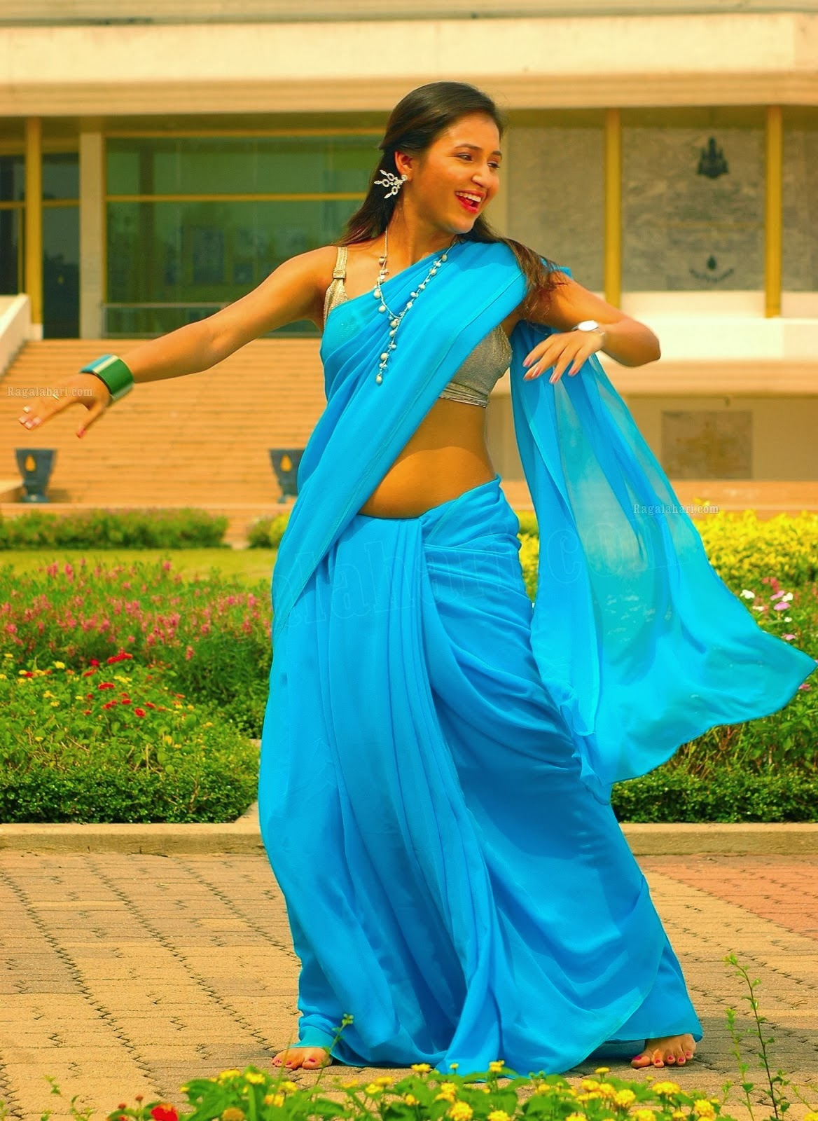 Hot Sarayu Spicy Saree Stills - CAP