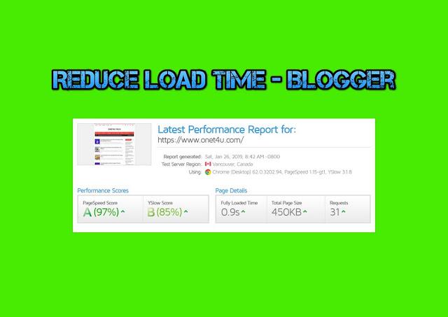 Cara Mempercepatkan Loading Blogspot/Blogger