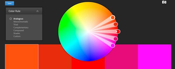 اختيار الألوان بالفوتوشوب