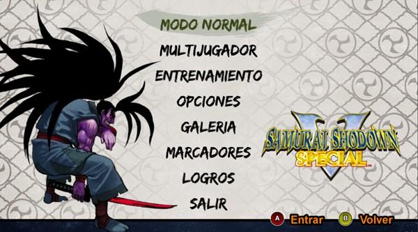 SAMURAI SHODOWN V SPECIAL PC Full Español