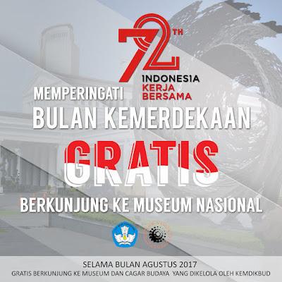 Gratis Masuk Museum dan Cagar Budaya Milik Kemendikbud www.guntara.com