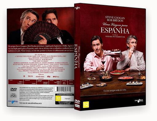 UMA VIAGEM NA ESPANHA DVD-R OFICIAL – CAPA DVD