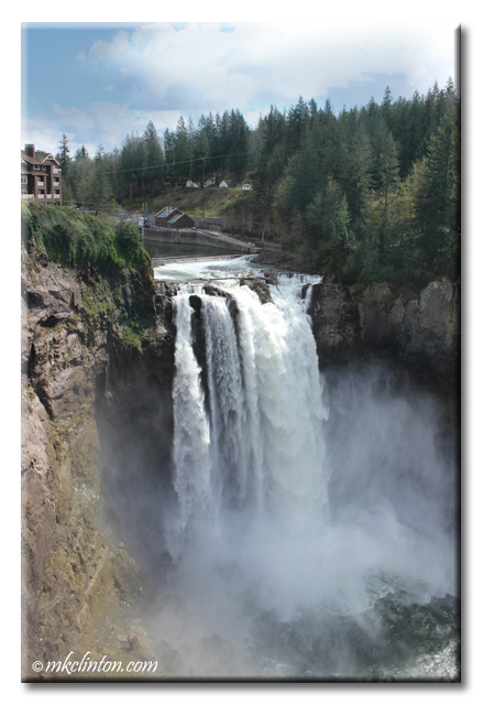Snoqualmie Falls in Washington