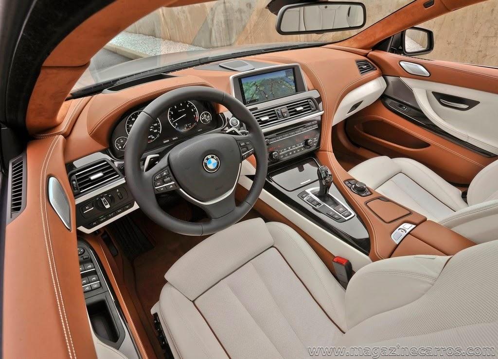 bmw 640i gran coupe car interior design. Black Bedroom Furniture Sets. Home Design Ideas
