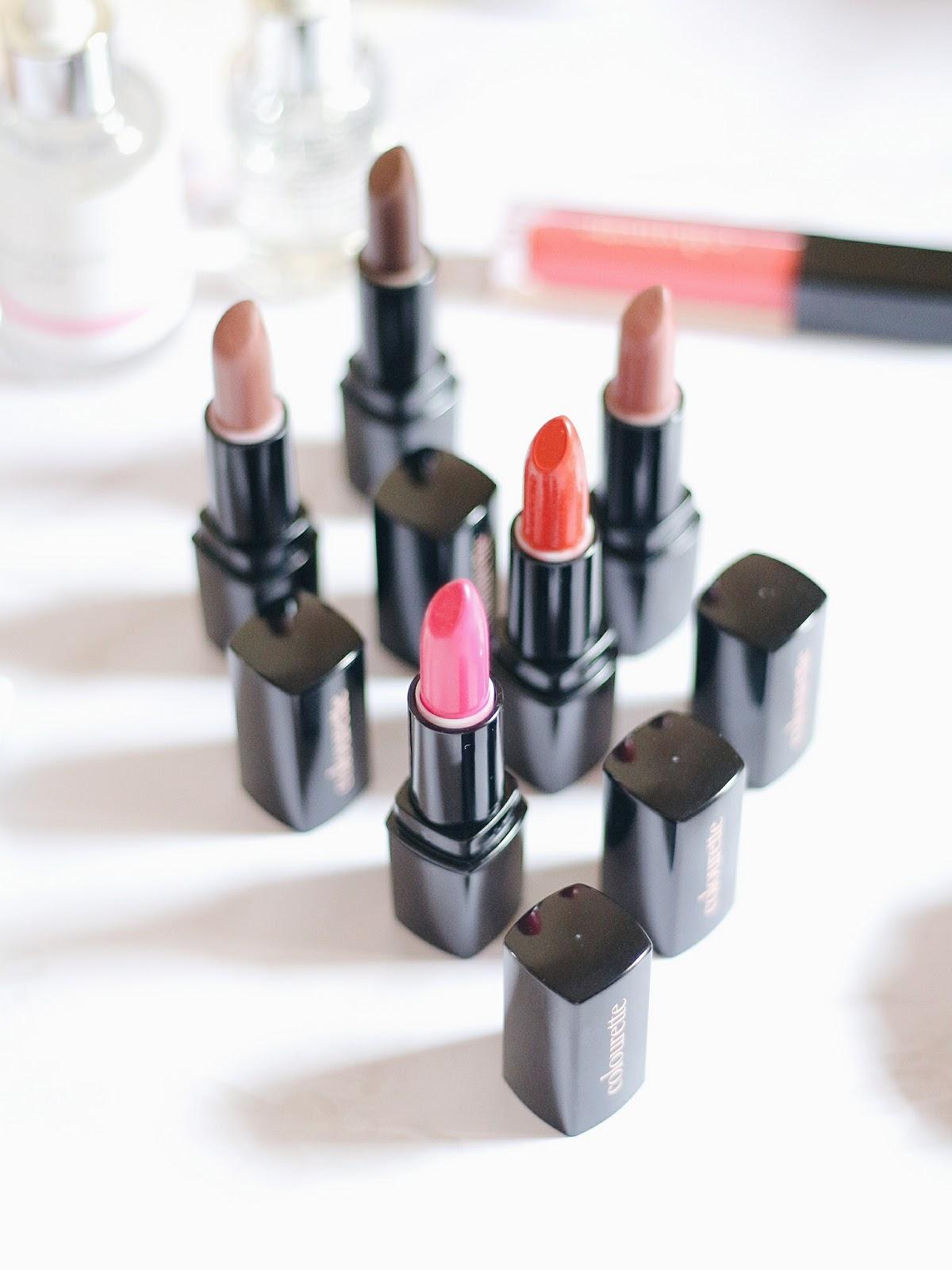 Colourette Cosmetics Review Swatch Lipstick Coloursnaps
