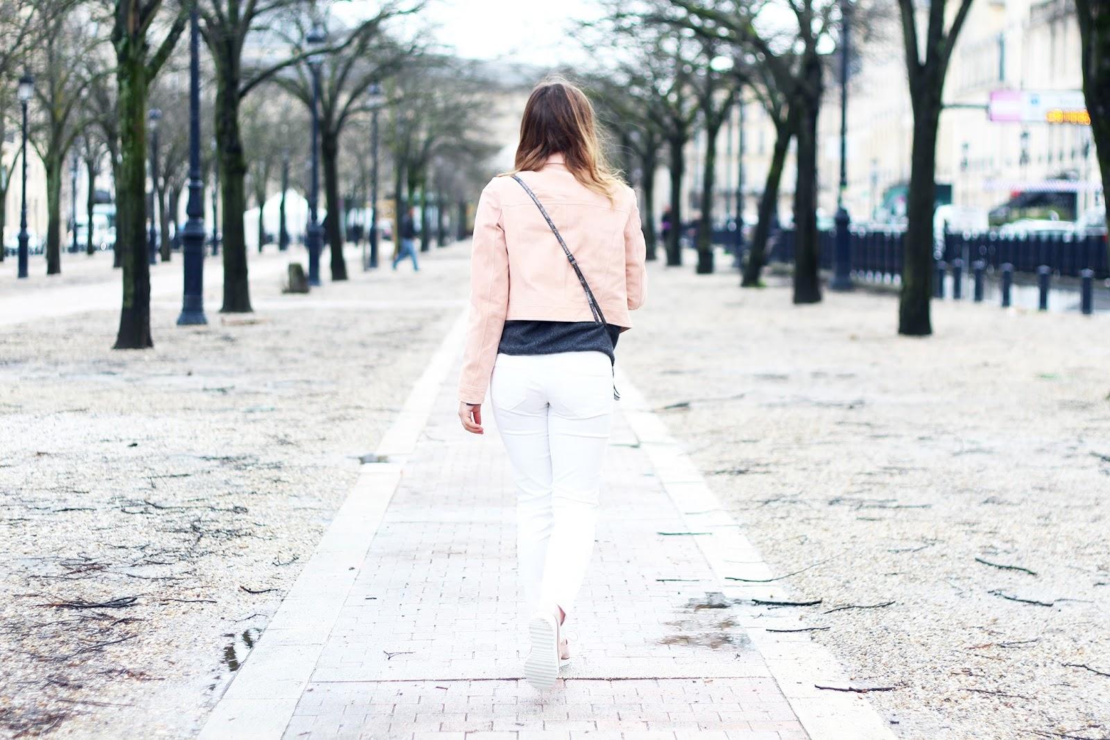 Pantalon blanc hiver