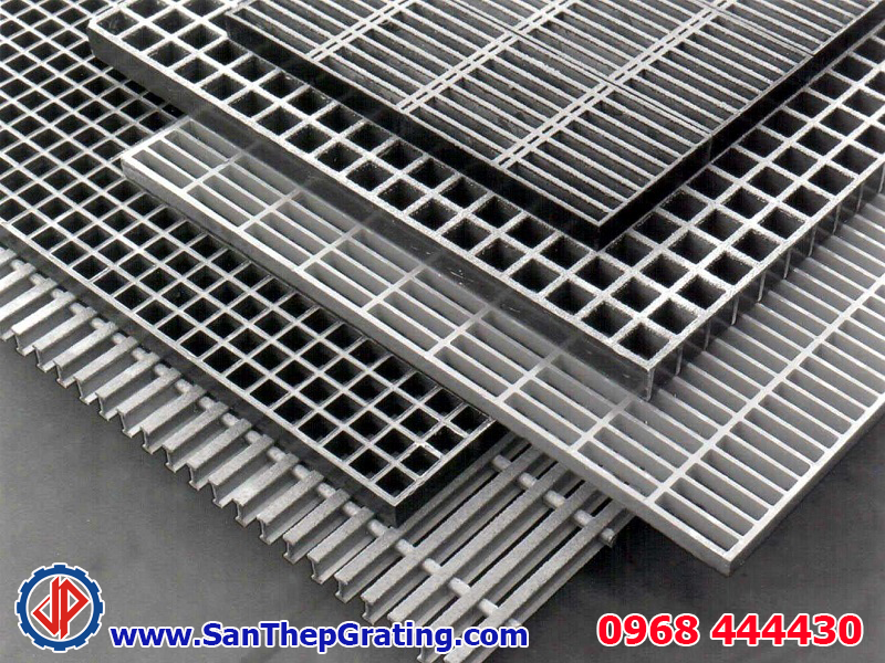 Sản xuất tấm sàn thép grating, tấm grating nhúng kẽm chất lượng cao, giá rẻ nhất