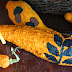 Fall / Halloween Craft: Acrylic Paint Stamped Squash