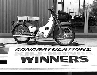 KHJ Honda winners prize