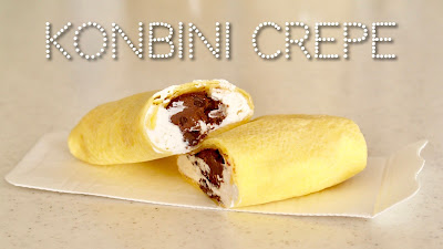 How to Make Konbini Crepe