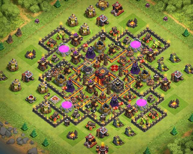 clash of clans th10 farming base