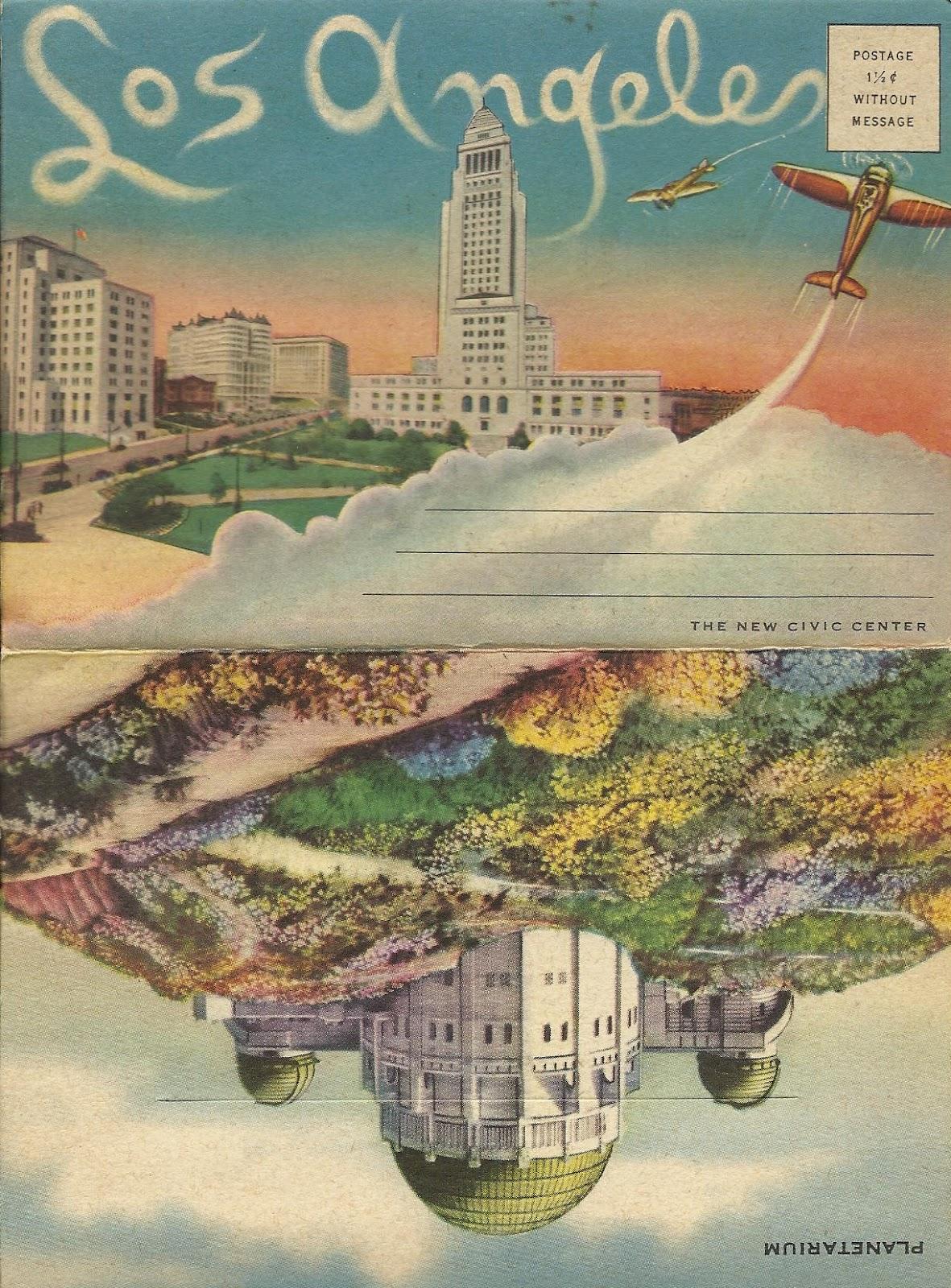 Vintage Travel Postcards March 2012