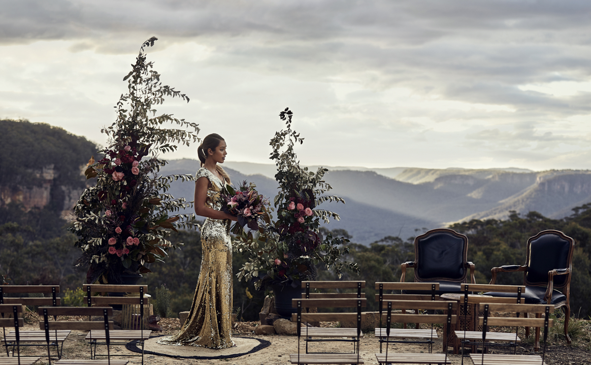 MACHINERY SHED BLUE MOUNTAINS STYLED WEDDING SHOOT