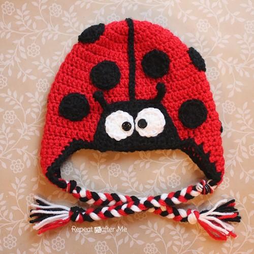 Ladybug Hat - Free Pattern