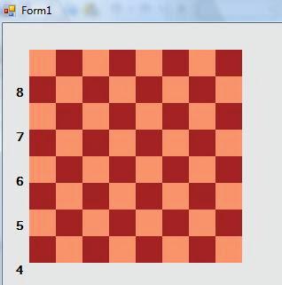 diseño con .net de un tablero de ajedrez
