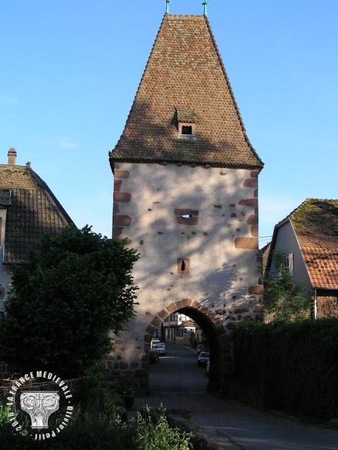 BOERSCH (67) - Portes fortifiées (XIVe-XVe siècles)
