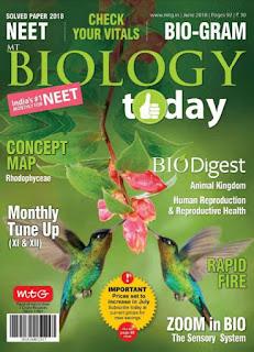 Biology Today Magazine June 2018 PDF