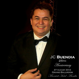 JC Buendia on his  25th Anniversary