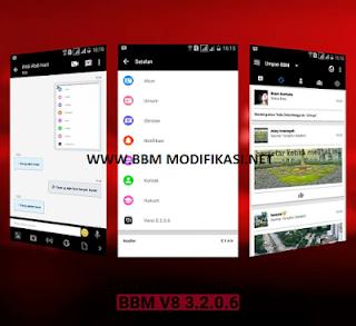 BBM V8 Versi 3.2.0.6 APK + BBM2