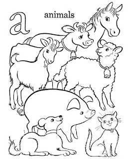 Best Ideas Farm Animal Coloring Pages Print