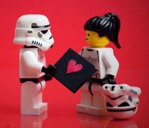 Celebrate Valentineu0027s Day With Star Wars Lego   Lego .
