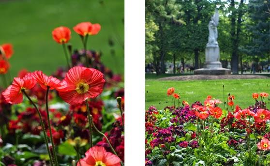 Blomstrende parker i Paris