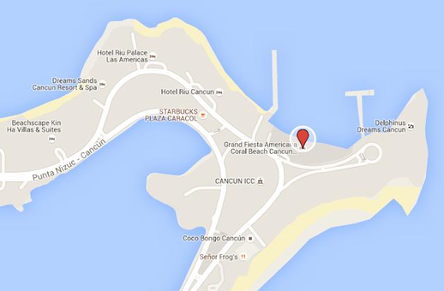 Melhor localização estratégica para se hospedar em Cancun