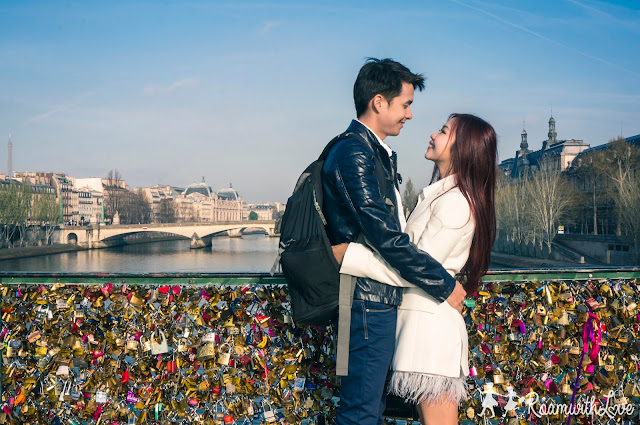 review, Honeymoon, france, Paris, รีวิว, ฝรั่งเศส, ฮันนีมูน, pont des arts,คล้องกุญแจ